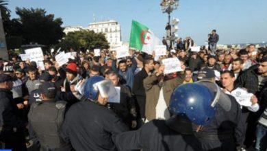 Photo of إيقاف العديد من الطلبة خلال مسيرة بالجزائر العاصمة