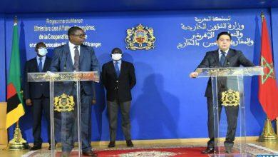 Photo of وزير الخارجية الزامبي: تدشين زامبيا تمثيليات دبلوماسية بالمغرب يجسد اهتمامها الكبير بالتعاون مع المملكة