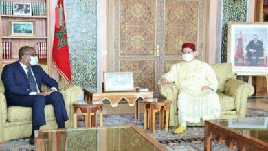 "Photo of بوريطة يتباحث مع رئيس الجمعية الوطنية ل""ساو تومي وبرينسيبي"""