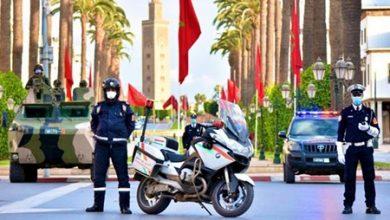 Photo of صور من بني ملال: على خط المواجهة العناصر الأمنية معبأة لاحتواء الوباء