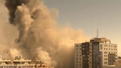 Photo of قصف جنود الاحتلال يدمر برجا يضم مقر وسائل إعلام عالمية بغزة