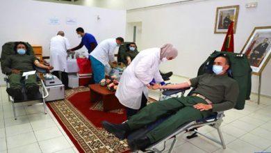 Photo of فيديو: القوات المسلحة الملكية تنخرط في حملة للتبرع بالدم