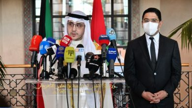 Photo of وزير الخارجية الكويتي: المغرب والكويت عازمان على إعطاء زخم مضاعف لعلاقاتهما