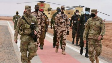 """Photo of ملاحظون عسكريون من 13 دولة يتابعون التداريب الميدانية لمناورات """"الأسد الإفريقي"""""""