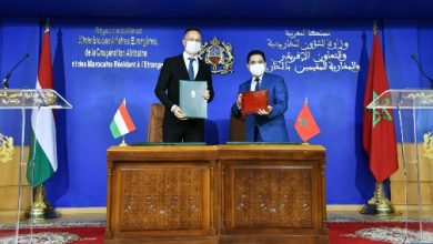 Photo of المغرب وهنغاريا يوقعان مشاريع اتفاقيات للتعاون الثنائي في عدة مجالات