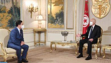 Photo of رسالة من الملك محمد السادس إلى رئيس الجمهورية التونسية
