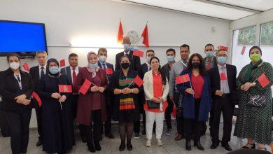 Photo of مغاربة ألمانيا يخلدون الذكرى 22 لعيد العرش