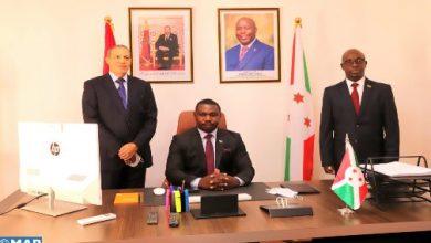 Photo of تنصيب القنصل العام لبوروندي بالعيون