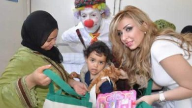 Photo of ملكة جمال العرب تدخل الفرحة لقلوب الأطفال بمستشفى بالبيضاء