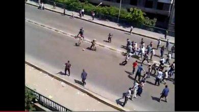 Photo of سحل عسكريين من الجيش المصري من طرف أنصار مرسي