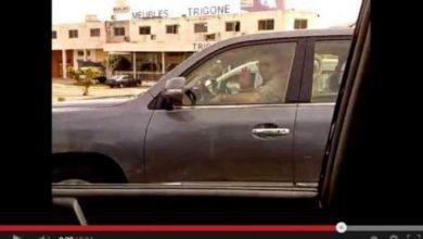Photo of بالفيديو.. الملك يتجول بسيارته في أبدجان