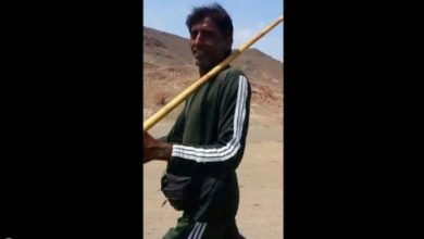 Photo of فيديو : باكستاني يمشي 6000 كلم لأداء الحج