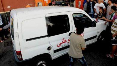 "Photo of حصري بالصور: شخص يحرق نفسه بالحي المحمدي ويستنجد بـ""مبرد المثلجات"""