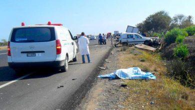 Photo of الرباط: مصرع شخصين في اصطدام بين شاحنة صغيرة وشاحنة صهريج