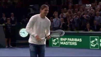 Photo of فيديو: مباراة تنس بين ابراهيموفيتش ودجوكوفيتش