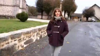 """Photo of بالفيديو : مذيعة فرنسية تَفي بوعدها و تُقدم النشرة الجوية """"عــــارية"""" لصعود فرنسا لكاس العالم +18"""