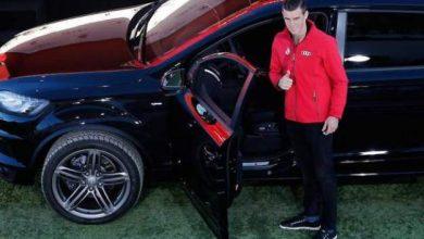 Photo of بالصور – لاعبو ريال مدريد يستلمون سياراتهم من شركة أودي الالمانية