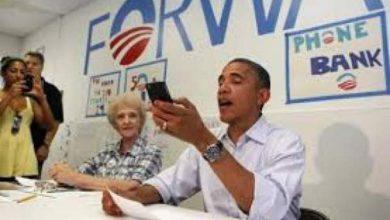 """Photo of الرئيس أوباما ممنوع من شراء أو استخدام هاتف """" الأيفون"""" لأسباب أمنية"""