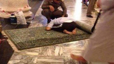 Photo of صورة لشاب توفي فجر اليوم ساجدا في الحرم المكي