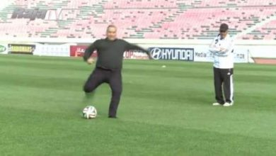 Photo of هدف بودريقة   على مصطفى الشادلي في التدريبات على طريقة بسام (كابتن ماجد)