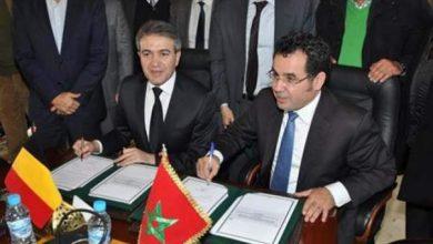 Photo of التوقيع على بروتوكول تعاون وصداقة بين طنجة وسان جوستن البلجيكية