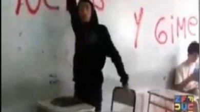 """Photo of تلميد ذكّر الأستاذ بالفرض فلقي """"مصرعه"""" من طرف التلاميذ"""