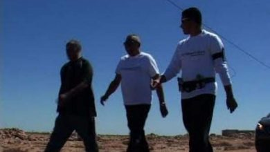 """Photo of الأمريكي داني گارسيا """"رجل المشي"""" يحل بمدينة الداخلة"""
