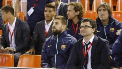 Photo of نادي برشلونة يهنئ ريال مدريد بالتتويج والفوز بالكأس