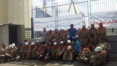 Photo of تواصل احتجاج عمال مخازن الحبوب بميناء الدار البيضاء