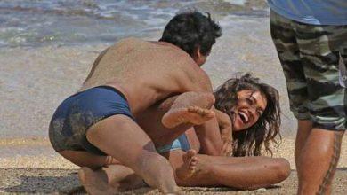 Photo of صور .. صديقة رونالدو تظهر بأوضاع مثيرة مع رجل