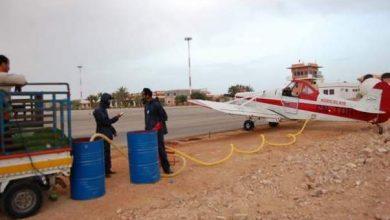 Photo of صورة حصرية: طائرة نفاثة في سماء العيون لهذا السبب…