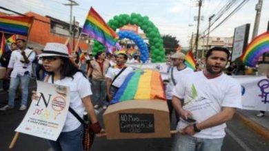 Photo of تظاهرة في هندوراس تنديدا باستهداف المثليين