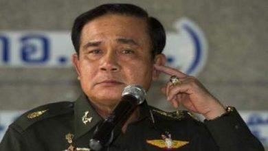 """Photo of قائد الجيش في تايلاند يعلن عن """"انقلاب عسكري"""""""