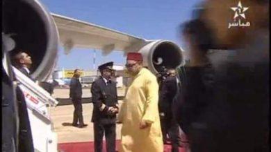 Photo of الملك محمد السادس يتوجه إلى تونس