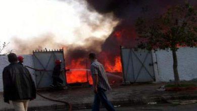 Photo of اندلاع حريق بسوق عشوائي قرب الجديدة