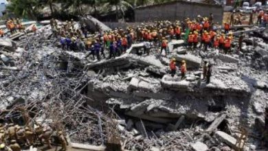 Photo of انهيار جديد لمبنى في الهند يودي بحياة 11 شخصا على الاقل