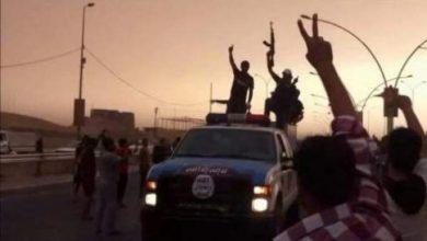 """Photo of تنظيم """"الدولة الاسلامية"""" ينشر صورا لتفجير وهدم مراقد واضرحة ومساجد بالموصل"""