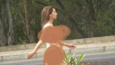 Photo of بالصورة مراكش : فتاة عارية وسط الشارع تربك المارة