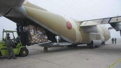 Photo of تواصل الجسر الجوي لنقل المساعدات لفائدة الفلسطينيين