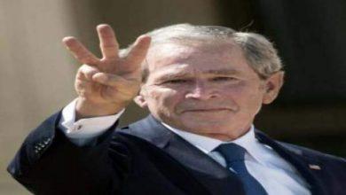 """Photo of الرئيس جورج بوش الابن قام بتحدي """"دلو المياه المثلجة"""""""