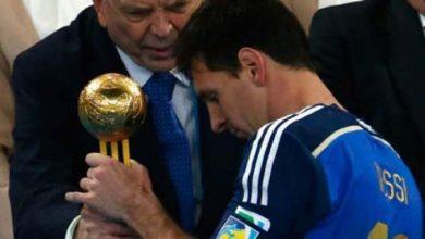 Photo of بلاتر يعترف: ميسي لا يستحق جائزة أفضل لاعب بالمونديال