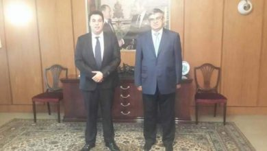 Photo of سفير روسيا يستقبل وزير الشؤون الخارجية والتعاون بحكومة الشباب الموازية