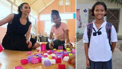 Photo of فتاة تايلندية تفضل الفقر على أن تتبناها كيم كاردشيان