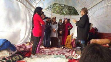 Photo of وزيرة التعليم العالي في حكومة الشباب الموازية تزور الطلبة المعتصمين بجامعة سطات