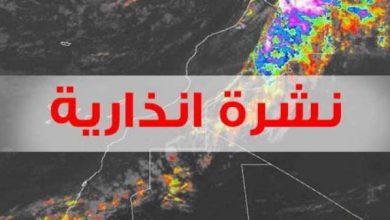 Photo of نشرة إنذارية : أمطار قوية وبحر قوي الهيجان في السواحل الأطلسية