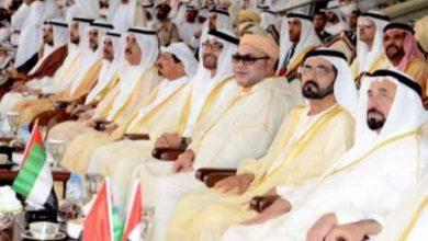 Photo of جلالة الملك يحضر الاستعراض الذي نظمته دولة الإمارات العربية المتحدة بمناسبة تخليد يومها الوطني الثالث والأربعين
