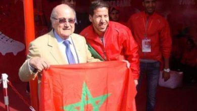 "Photo of جوزيف بلاتر : كأس العالم للأندية بالمغرب ""ستكون مسك ختام سنة كروية رائعة"