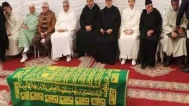 Photo of صور من لحظة وصول جثمان عبد الله باها الى منزل بنكيران   المزيد