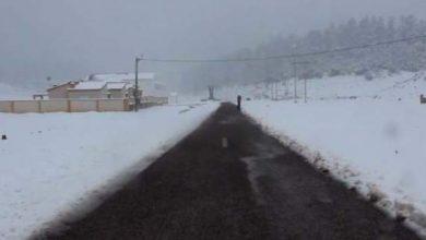 Photo of التساقطات الثلجية بالمغرب