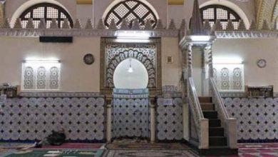 Photo of تدنيس واجهة مسجد في طور البناء بشعارات ورموز نازية بمدينة دورماغن
